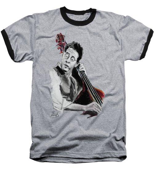Stanley Clarke Baseball T-Shirt by Melanie D