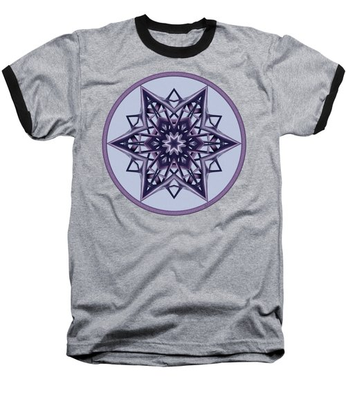 Star Window II Baseball T-Shirt by Lynde Young