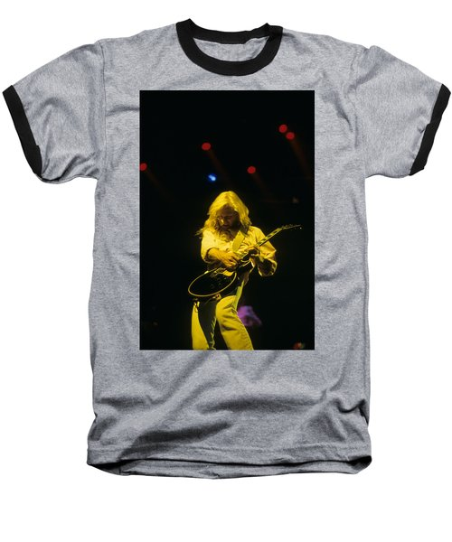 Steve Clark Baseball T-Shirt by Rich Fuscia
