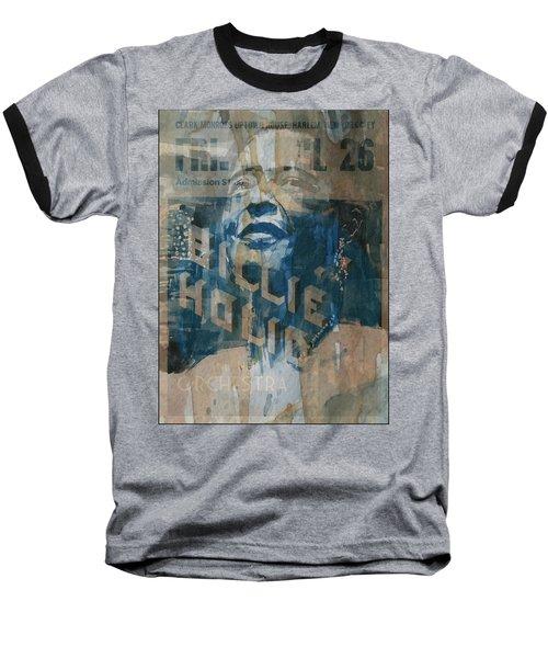 Summertime Baseball T-Shirt by Paul Lovering