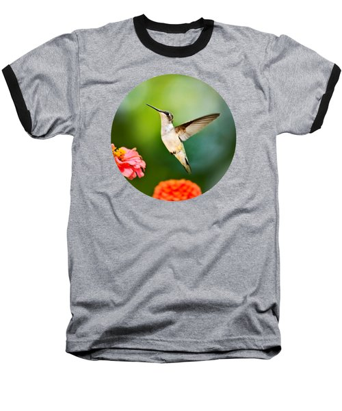 Sweet Promise Hummingbird Baseball T-Shirt by Christina Rollo