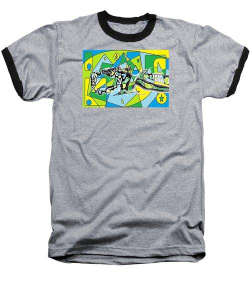 Swift Baseball T-Shirt by AR Teeter