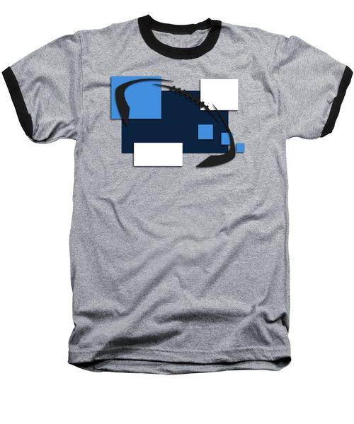 Tennessee Titans Abstract Shirt Baseball T-Shirt by Joe Hamilton