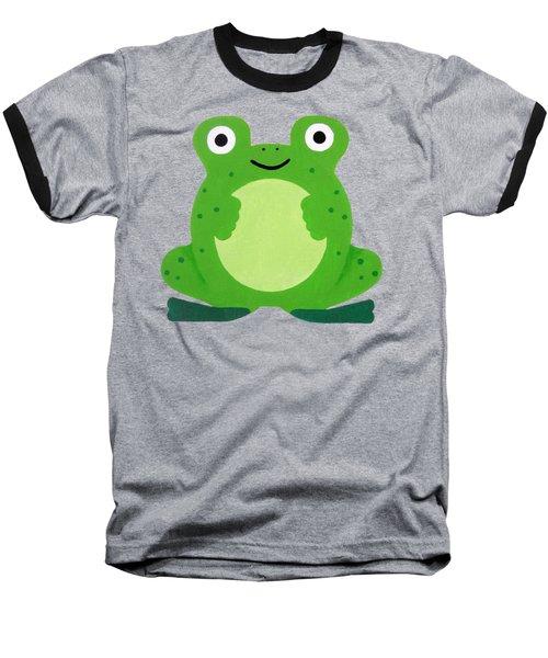 Tfrogle Baseball T-Shirt by Oliver Johnston