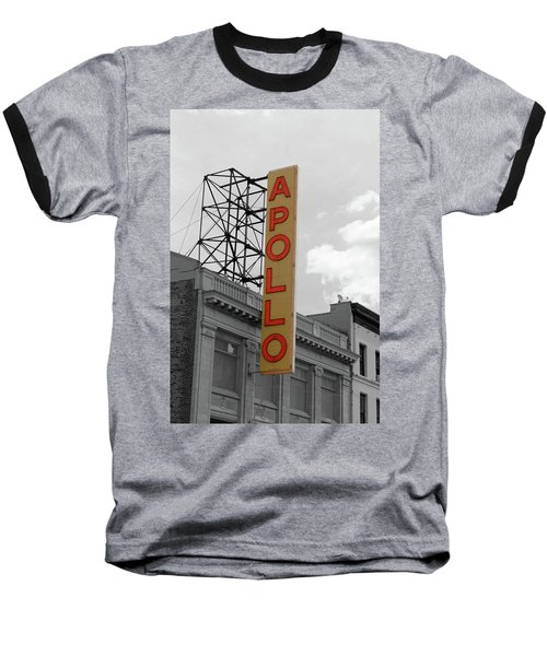 The Apollo In Harlem Baseball T-Shirt by Danny Thomas