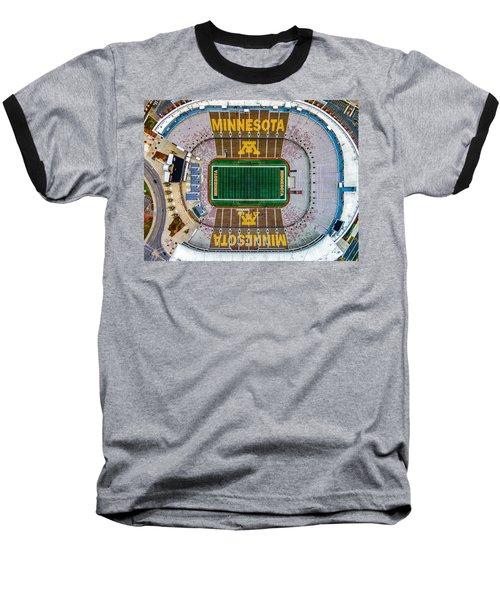The Bank Baseball T-Shirt by Mark Goodman
