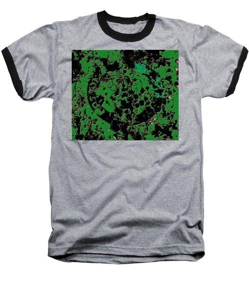 The Boston Celtics 6c Baseball T-Shirt by Brian Reaves