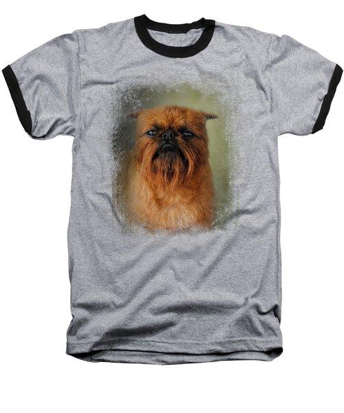 The Brussels Griffon Baseball T-Shirt by Jai Johnson