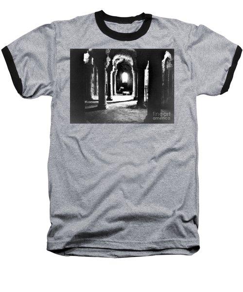 The Crypt Baseball T-Shirt by Simon Marsden