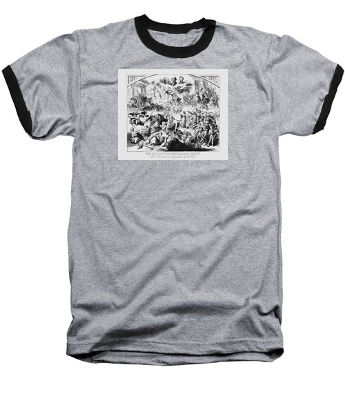 The End Of The Republican Party Baseball T-Shirt by War Is Hell Store