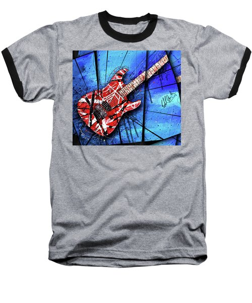 The Frankenstrat Vii Cropped Baseball T-Shirt by Gary Bodnar