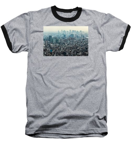 The Great Tokyo Baseball T-Shirt by Peteris Vaivars