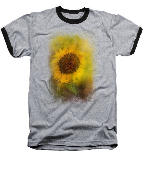 The Happiest Flower Baseball T-Shirt by Jai Johnson