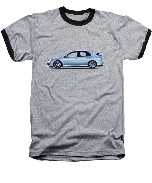 The Lancer Evolution Viii Baseball T-Shirt by Mark Rogan