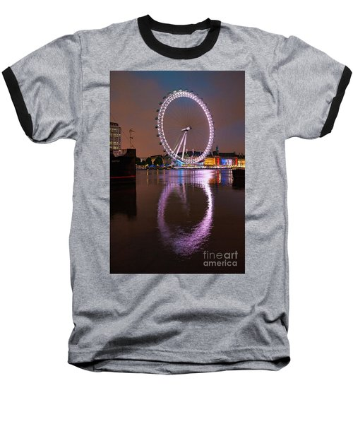 The London Eye Baseball T-Shirt by Stephen Smith