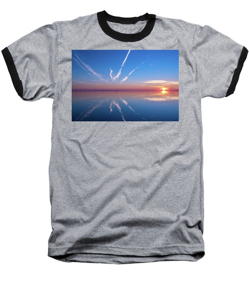 Baseball T-Shirt featuring the photograph The Mirror by Thierry Bouriat