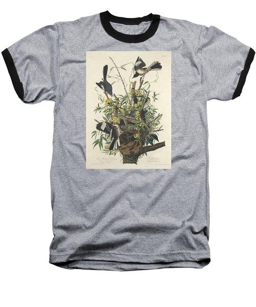 The Mockingbird Baseball T-Shirt by John James Audubon