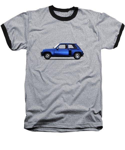 The Renault 5 Turbo Baseball T-Shirt by Mark Rogan