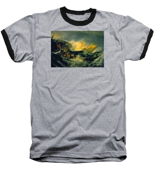 The Shipwreck Of The Minotaur Baseball T-Shirt by MotionAge Designs