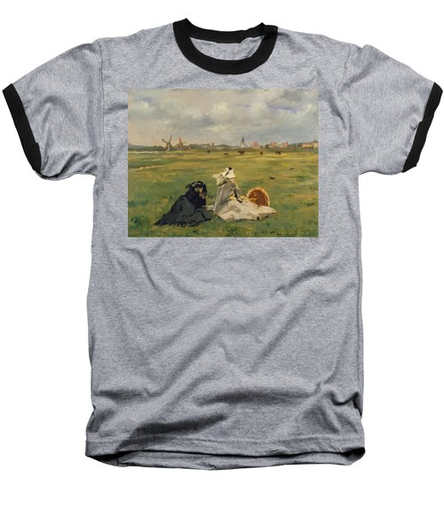 The Swallows Baseball T-Shirt by Edouard Manet