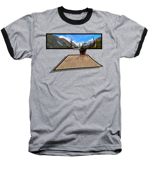 The View Baseball T-Shirt by Shane Bechler