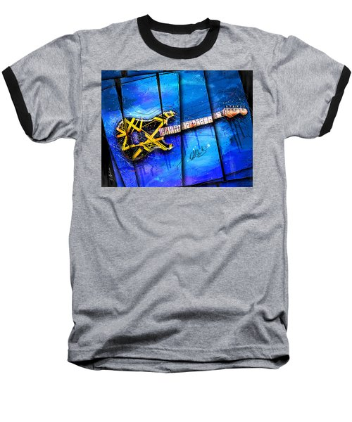 The Yellow Jacket Baseball T-Shirt by Gary Bodnar