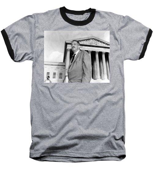 Thurgood Marshall Baseball T-Shirt by Granger