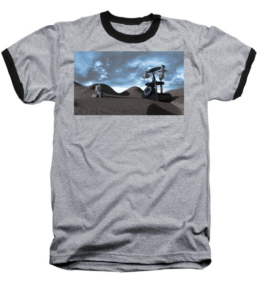 Tomorrow Morning Baseball T-Shirt by Brainwave Pictures