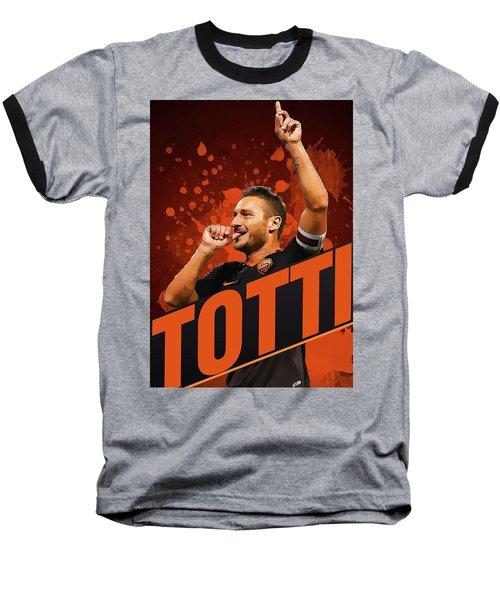 Totti Baseball T-Shirt by Semih Yurdabak
