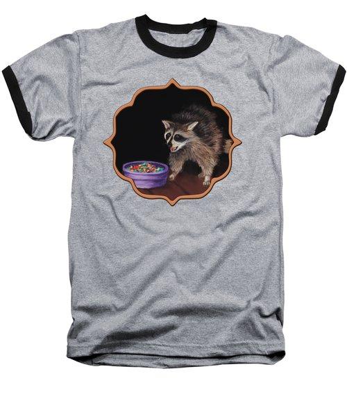 Trick-or-treat Baseball T-Shirt by Anastasiya Malakhova