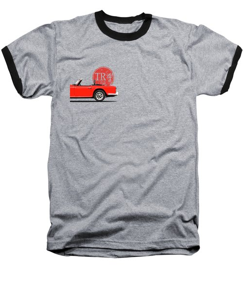 Triumph Tr4 Baseball T-Shirt by Mark Rogan