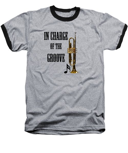 Trumpets In Charge Of The Groove 5536.02 Baseball T-Shirt by M K  Miller