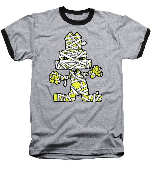 Undead Bunny Baseball T-Shirt by Bizarre Bunny