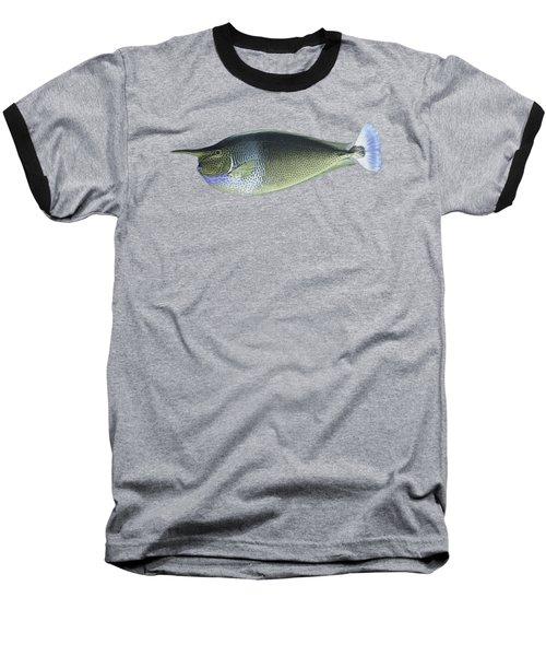 Unicorn Fish Baseball T-Shirt by Roy Pedersen