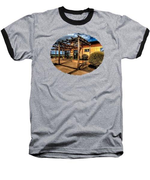 Van Duzer Vineyards Baseball T-Shirt by Thom Zehrfeld