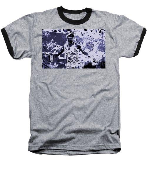 Venus Williams Stay Focused Baseball T-Shirt by Brian Reaves