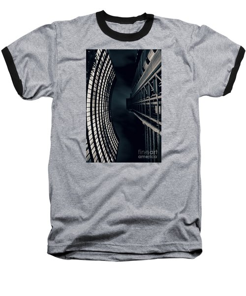 Vertigo I Baseball T-Shirt by Jasna Buncic