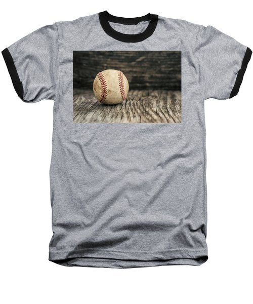Vintage Baseball Baseball T-Shirt by Terry DeLuco