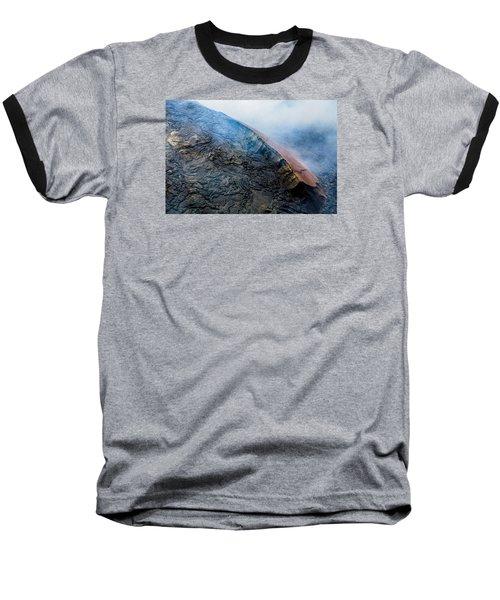 Baseball T-Shirt featuring the photograph Volcanic Ridge by M G Whittingham