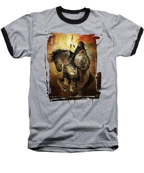 Warrior Baseball T-Shirt by Shanina Conway