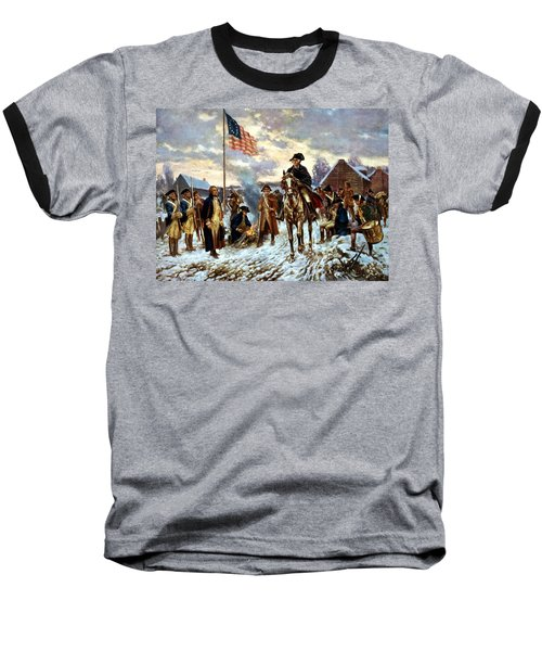 Washington At Valley Forge Baseball T-Shirt by War Is Hell Store