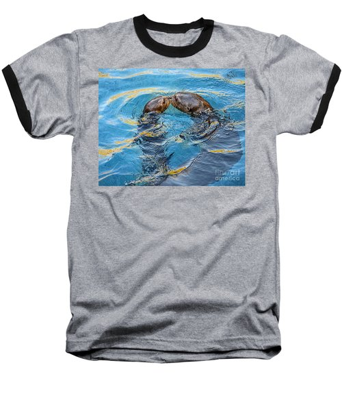 Water Kisses Baseball T-Shirt by Jamie Pham