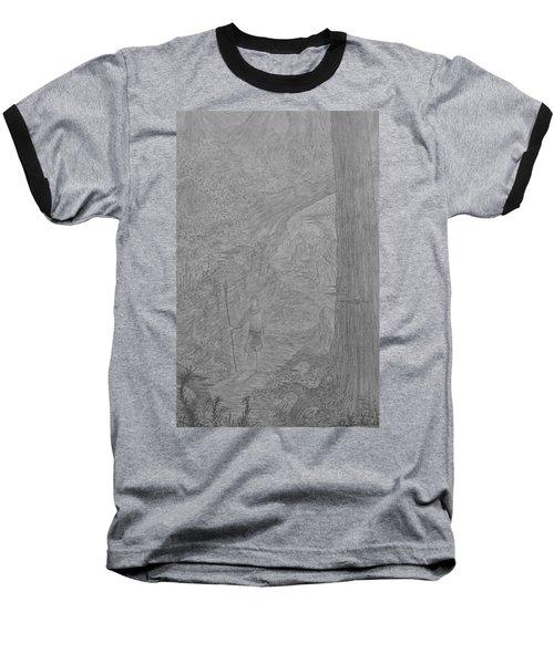 Wayward Wizard Baseball T-Shirt by Corbin Cox