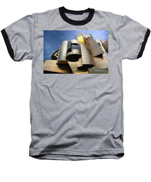 Weisman Art Museum University Of Minnesota Baseball T-Shirt by Wayne Moran