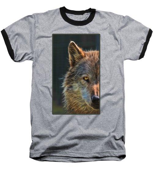 Wild Night Baseball T-Shirt by Gill Billington