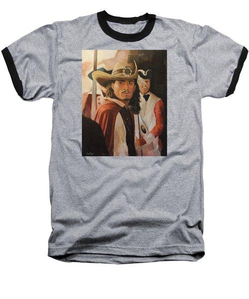 Will Turner Baseball T-Shirt by Caleb Thomas