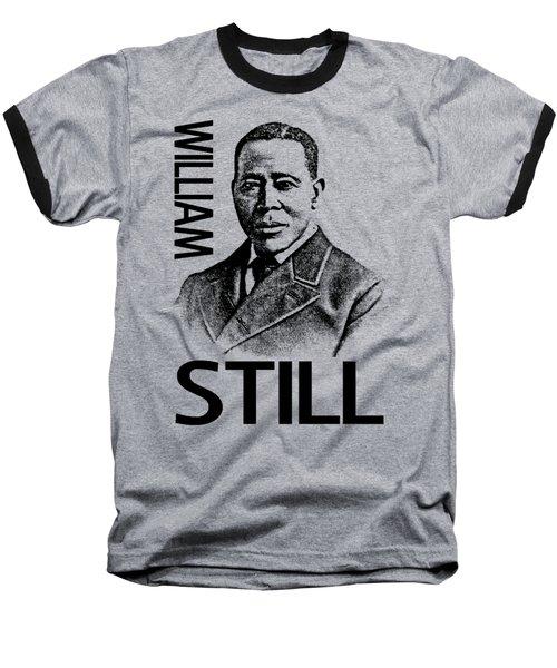 William Still Baseball T-Shirt by Otis Porritt