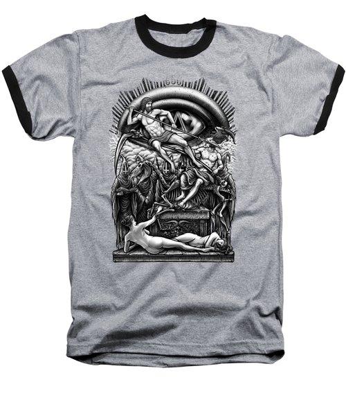 Winya No. 40 Baseball T-Shirt by Winya Sangsorn