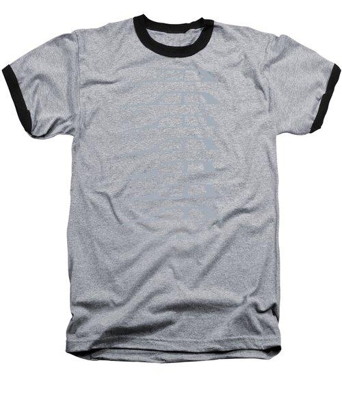 Wolfsburger Hatch Silhouettehistory Baseball T-Shirt by Gabor Vida