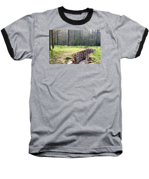 Baseball T-Shirt featuring the photograph World War One Trenches by Travel Pics